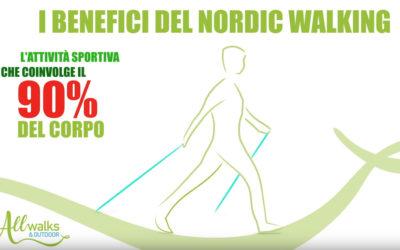 I benefici del Nordic Walking
